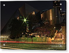 Acrylic Print featuring the photograph Walt Disney Concert Hall  by Kevin Ashley