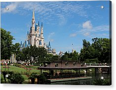 Walt Disney World Orlando Acrylic Print by Pixabay