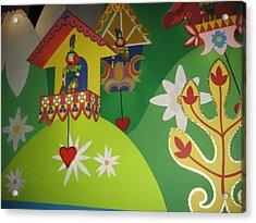 Walt Disney World Resort - Magic Kingdom - 1212109 Acrylic Print by DC Photographer