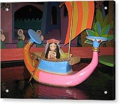 Walt Disney World Resort - Magic Kingdom - 1212114 Acrylic Print by DC Photographer