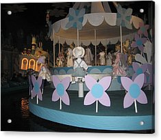 Walt Disney World Resort - Magic Kingdom - 1212122 Acrylic Print by DC Photographer