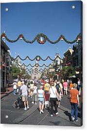 Walt Disney World Resort - Magic Kingdom - 1212128 Acrylic Print by DC Photographer