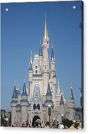 Walt Disney World Resort - Magic Kingdom - 1212129 Acrylic Print by DC Photographer