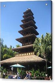 Walt Disney World Resort - Magic Kingdom - 1212135 Acrylic Print by DC Photographer