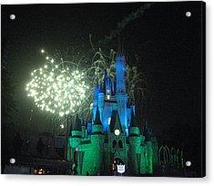 Walt Disney World Resort - Magic Kingdom - 121217 Acrylic Print by DC Photographer