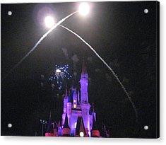 Walt Disney World Resort - Magic Kingdom - 121223 Acrylic Print by DC Photographer
