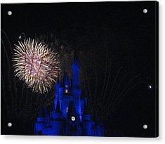 Walt Disney World Resort - Magic Kingdom - 121232 Acrylic Print by DC Photographer