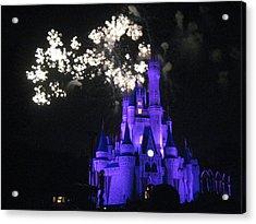 Walt Disney World Resort - Magic Kingdom - 121244 Acrylic Print by DC Photographer