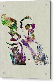 Walter Big Lebowski  Acrylic Print by Naxart Studio