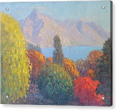 Walter Peak Queenstown Nz Acrylic Print by Terry Perham