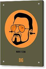 Walter Sobchak Poster 1 Acrylic Print by Naxart Studio