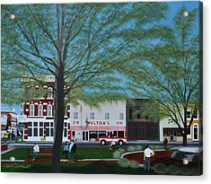 Walton's 5 And 10 Acrylic Print by Clinton Cheatham