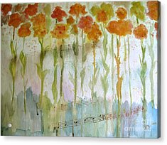 Waltz Of The Flowers Acrylic Print