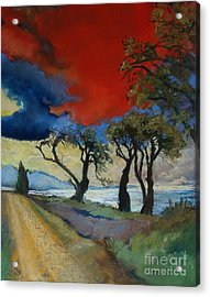Wander Where The Wind Blows Acrylic Print by Robin Maria Pedrero