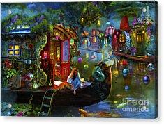 Wanderer's Cove Acrylic Print by Aimee Stewart