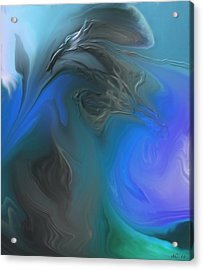 Wandering The Rift Acrylic Print by Aliceann Carlton