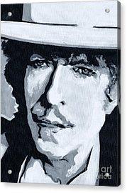 Wandering Troubadour - Bob Dylan Acrylic Print