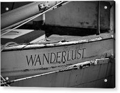 Wanderlust Acrylic Print