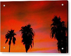 Wang's Sunsets 3 Acrylic Print