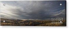 Waning Light On The Hills Of South Dakota Acrylic Print