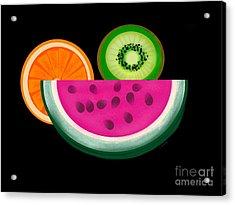 Want A Slice? Acrylic Print by Christine Fournier