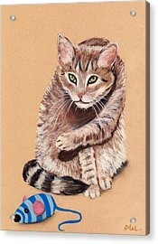 Want To Play Acrylic Print by Anastasiya Malakhova
