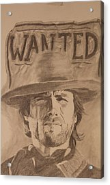 Wanted Acrylic Print by Michael McGrath