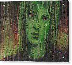 Wanting In Acrylic Print by Debra Lynn Birchell
