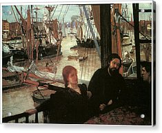 Wapping Acrylic Print by James Abbott McNeill Whistler