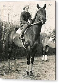 War Admiral Vintage Horse Racing #001 Acrylic Print by Retro Images Archive