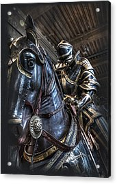 War Horse Acrylic Print by Evie Carrier