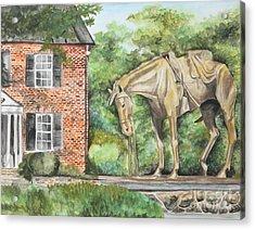 War Horse Memorial Acrylic Print