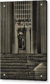 War Memorial Auditorium Nashville Acrylic Print by Dan Sproul