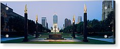 War Memorial In A City, Cenotaph Acrylic Print by Panoramic Images