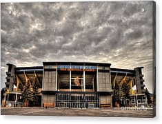 War Memorial Stadium Acrylic Print