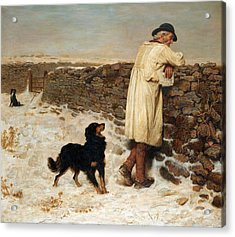War Time Acrylic Print by Briton Riviere