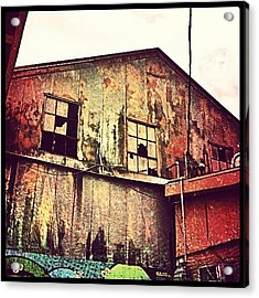 Warehouse New Orleans Acrylic Print