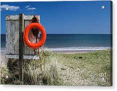Warkworth Beach Northumberland Coast Acrylic Print