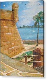 Warm Days In St. Augustine Acrylic Print