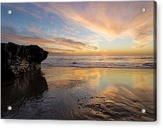 Warm Glow Of Memory Acrylic Print by Alex Lapidus