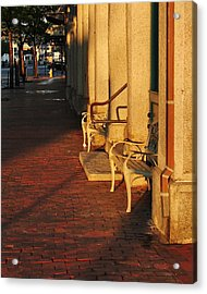 Acrylic Print featuring the photograph Warm Granite by Paul Noble