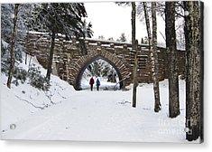 Warm Winter Day Acrylic Print