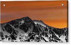 Warm Winter Acrylic Print by Mitch Shindelbower