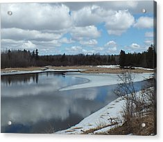 Acrylic Print featuring the photograph Warming Days by Gene Cyr