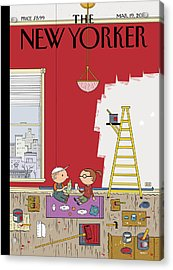 Warmth Acrylic Print by Ivan Brunetti