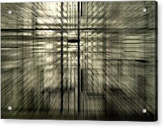 Warp Gate Acrylic Print by Frederico Borges