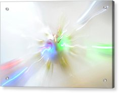 Warp Lights Acrylic Print by Frederico Borges