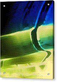 Warped And Rolled Acrylic Print