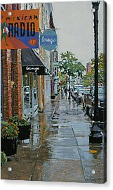 Warren Above Fifth Acrylic Print by Kenneth Young