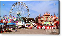Warren County A And L Fair Midway Acrylic Print by   Joe Beasley